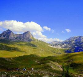 Гора Седло в Нац. парке Дурмитор