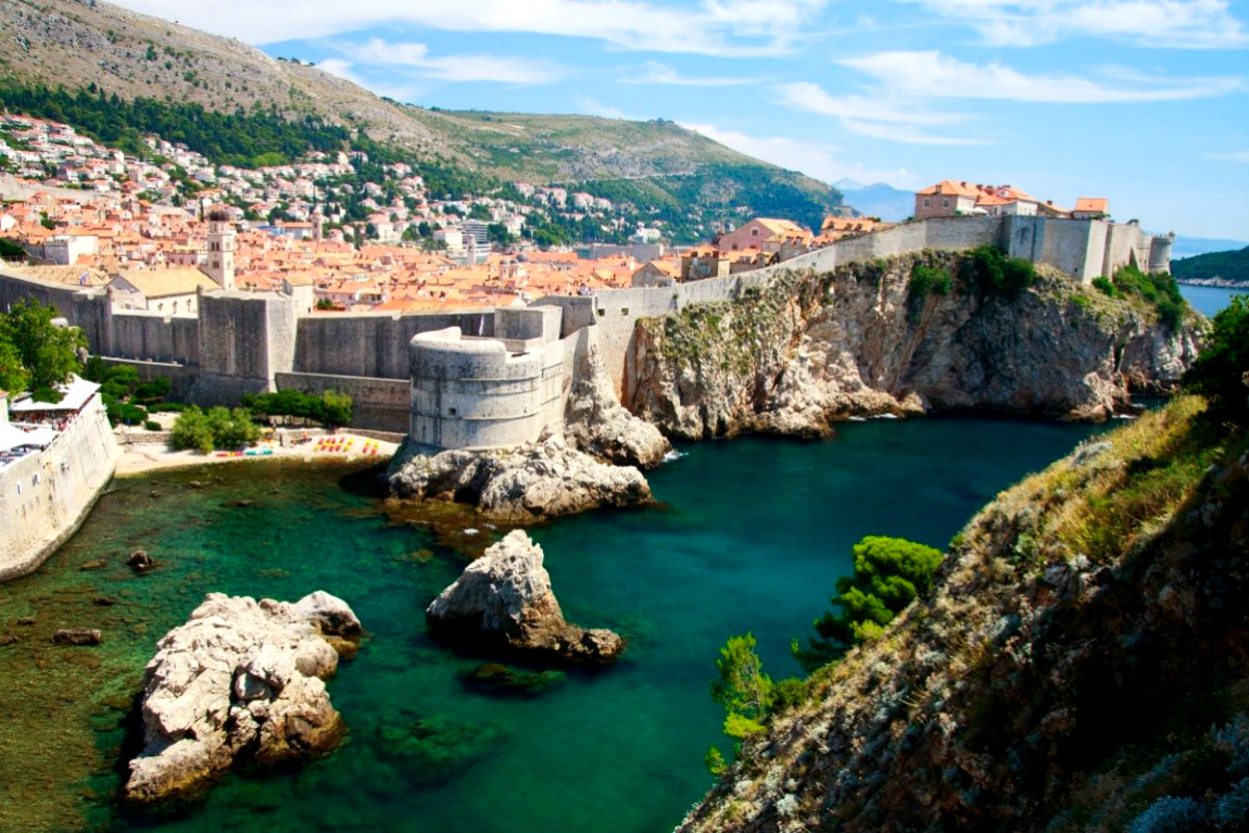 Городская стена Дубровника